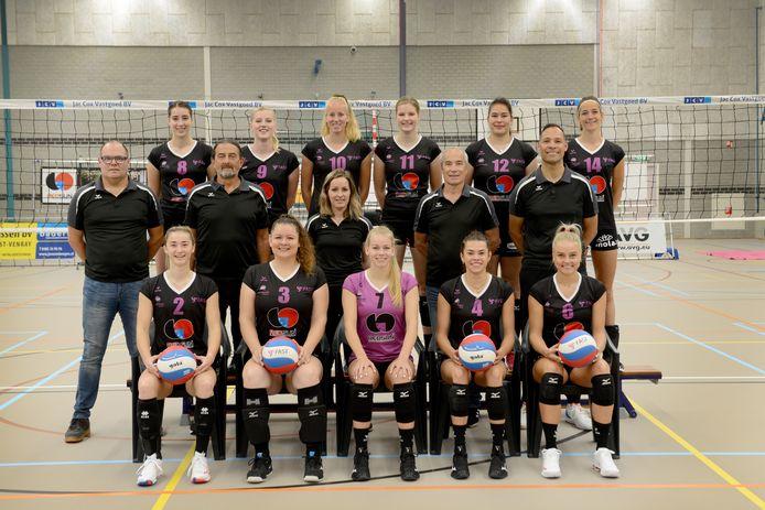 FAST volleybal Eredivisieteam 2021-2022.