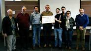 Cultuurraad overhandigt 1.000 euro aan Passhuis