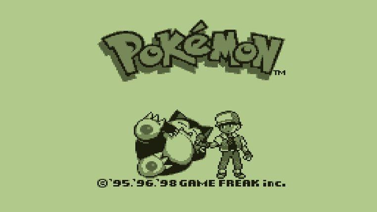 Pokémon begon als videospel op de Game Boy. Beeld RV