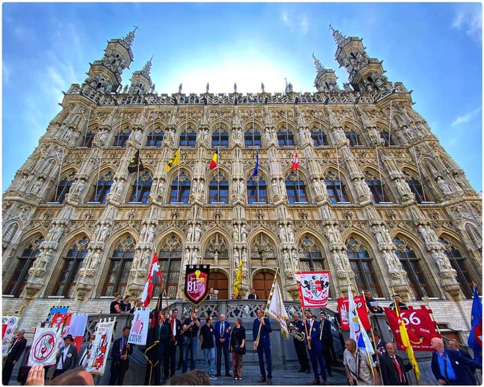 De Leuvense Jaartallen zijn blij dat het verenigingsleven weer op gang is gekomen.