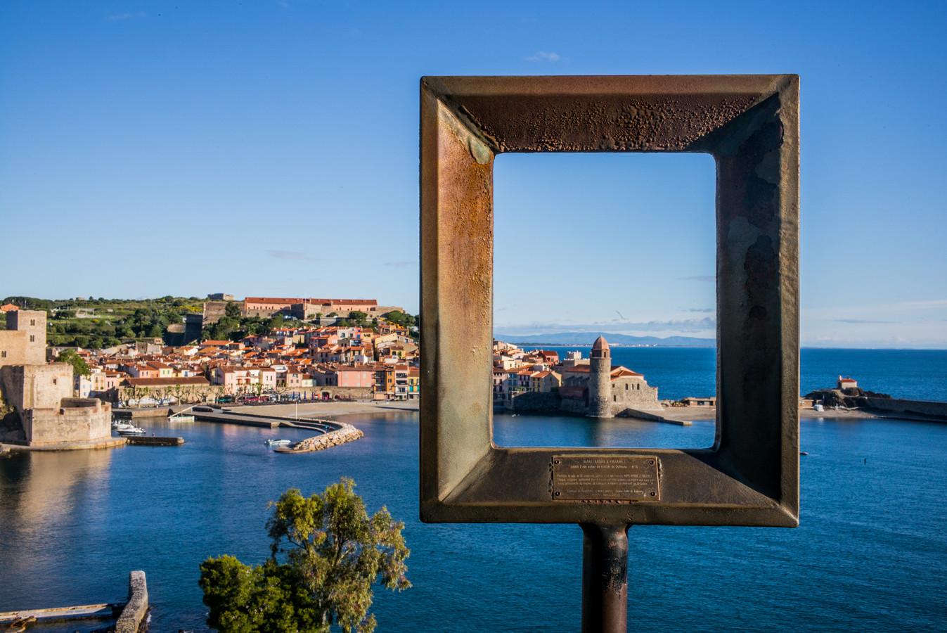 Sierlijsten in Collioure.