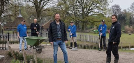 Wie maait het gras en wie ruimt de rommel op in Streekpark Kienehoef in Sint-Oedenrode?