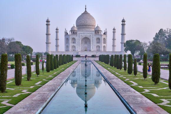 De Taj Mahal.