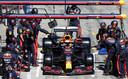 Einde race voor Max Verstappen