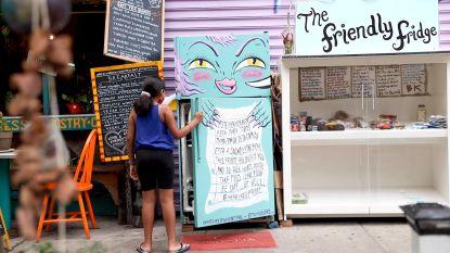 Waarom staan er plots koelkasten op straat in New York? Onze man ter plaatse zoekt het uit