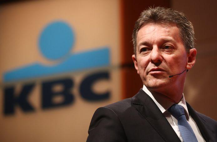 De CEO van KBC, Johan Thijs.