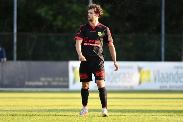 Dries Hulsmans scoorde zaterdag in de thuiswedstrijd tegen Koersel twee keer voor Witgoor Sport.