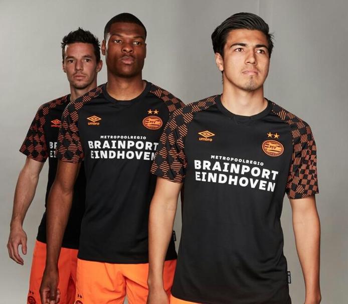 Het uitshirt van PSV voor seizoen 2019-2020.
