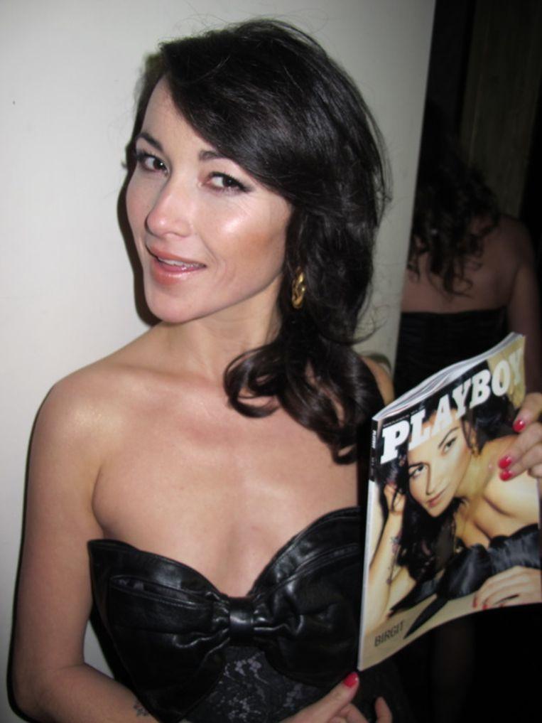 Birgit en haar Playboy. <br /> Beeld