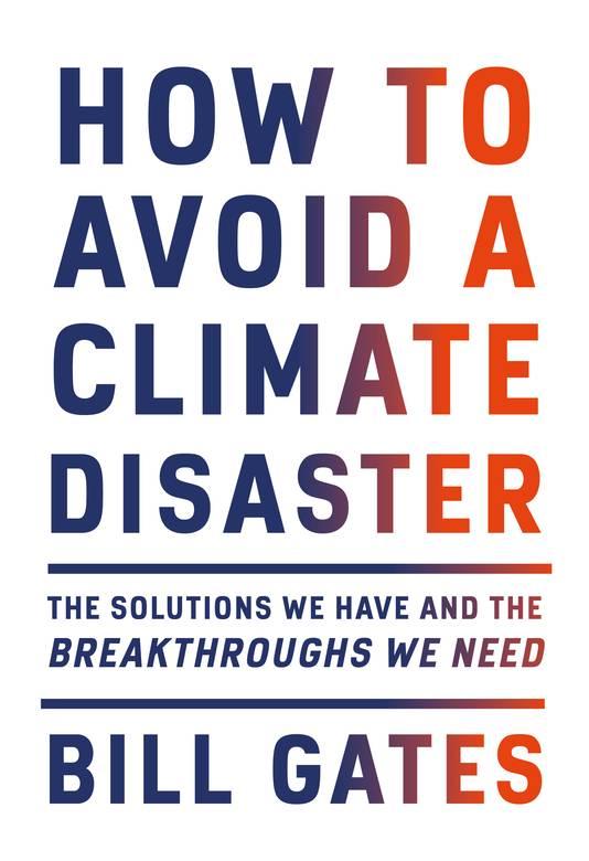 Het nieuwste boek van Bill Gates