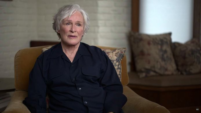 Glenn Close in 'The Me You Can't See'.