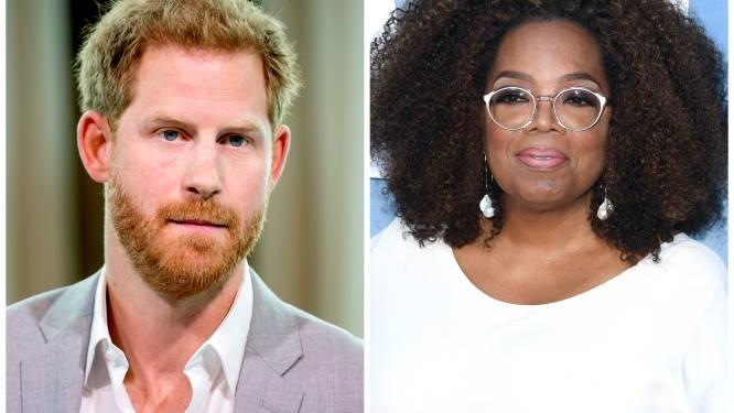 """Prins Harry en Oprah kondigen lanceringsdatum van hun serie 'The Me You Can't See' aan: """"We willen dat het taboe rond mentale gezondheid verdwijnt"""""""