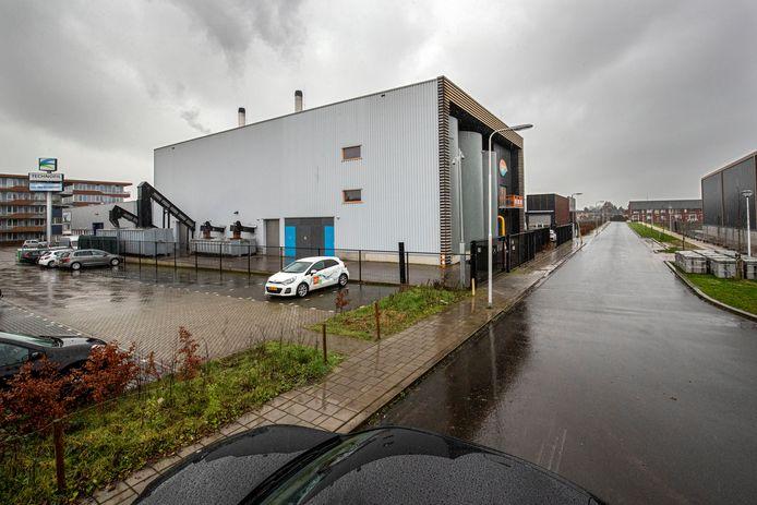 De biomassacentrale aan de Geerweg, een van de drie in Ede.
