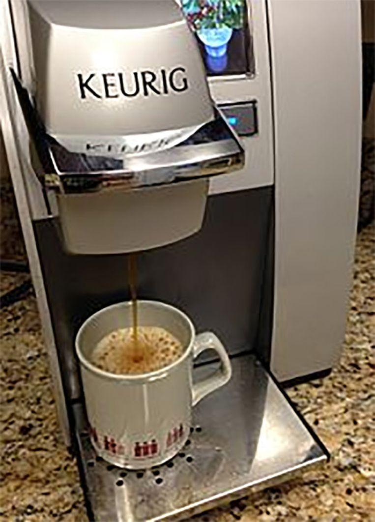 Eén op drie Amerikaanse gezinnen heeft een koffiemachine met capsules staan. Beeld Wikipedia