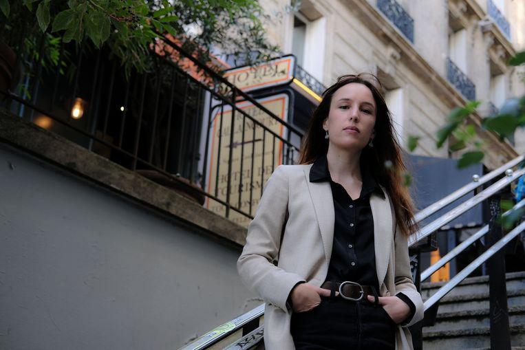Victoria Mas, auteur van 'Het bal der gekken'. Beeld BELGAIMAGE