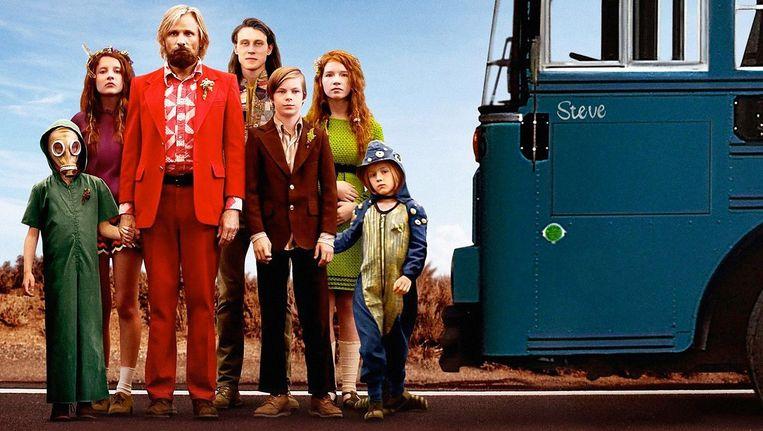 Viggo Mortensen en 'zijn kinderen' Beeld Filmposter
