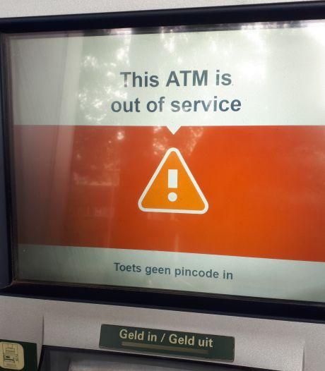 Alle geldautomaten in centrum Oss langdurig op storing: 'Toeval'