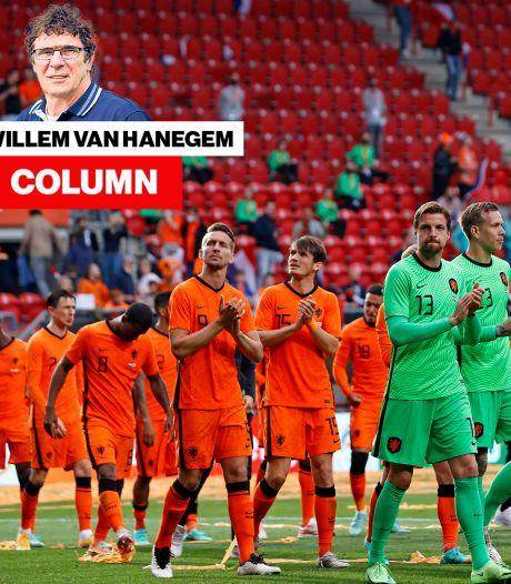 Column Van Hanegem   Met dit niveau worden we tegen Frankrijk, Spanje of Portugal overhoop gespeeld