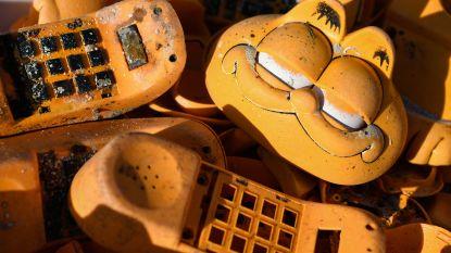 Al vele jaren spoelen telefoons van Garfield aan op Franse stranden. Eindelijk is de 'dader' gevonden
