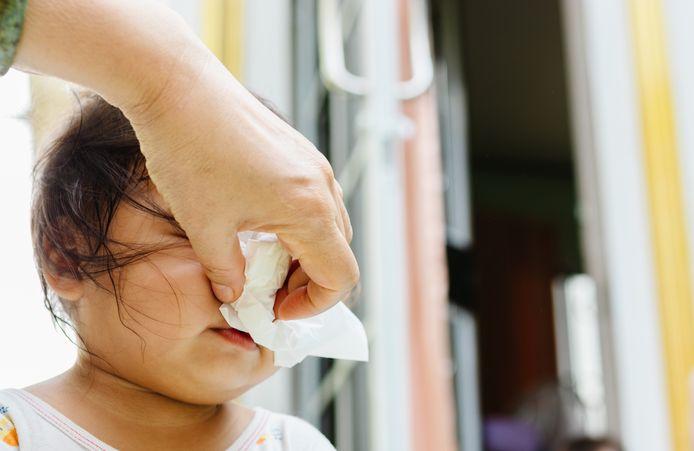 Vooral bij baby's en peuters kan het RS-virus voor grote benauwdheid zorgen.