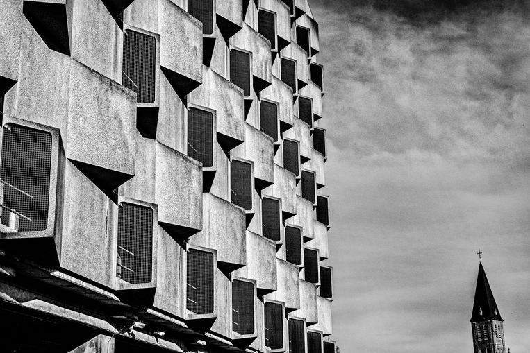 Het RTT-gebouw in Gent. Beeld Tim Dirven