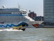 Cruiseschip met enkele passagiers in quarantaine komt naar Rotterdam