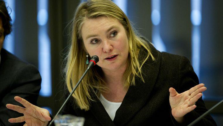 Minister van Infrastructuur en Milieu Melanie Schultz Beeld null