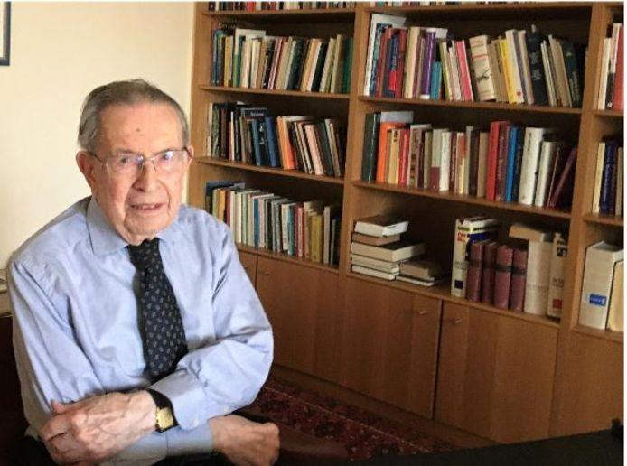 Valeer Deschacht werd 96 jaar