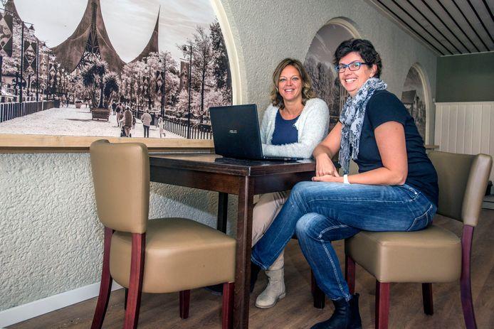 Monique de Man (r) en Daniëlle van Wezel van Mantel-Match.