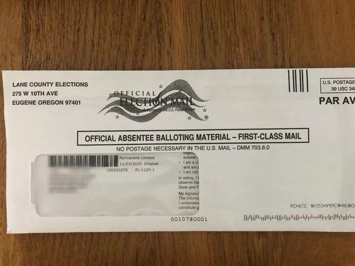 Harrie van Zee is Amerikaans staatsburger en mag stemmen voor de presidentsverkiezingen in de VS. Dat moet met deze papieren.