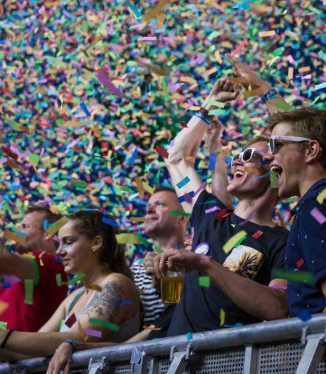 Testfestival voor 10.000 man op Zwarte Cross-terrein