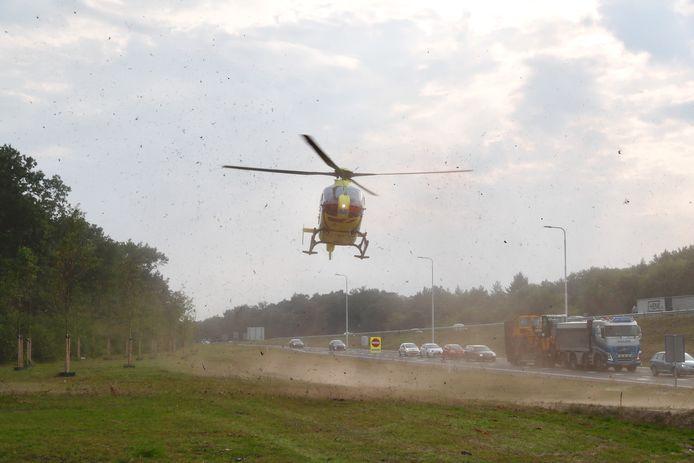 Traumahelikopter geland na ongeval N309