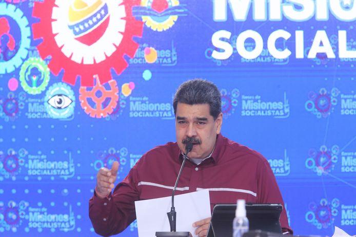 President Nicolas Maduro van Venezuela.