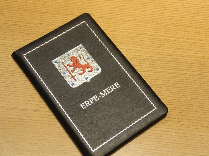 Trouwboekje gemeente Erpe-Mere.