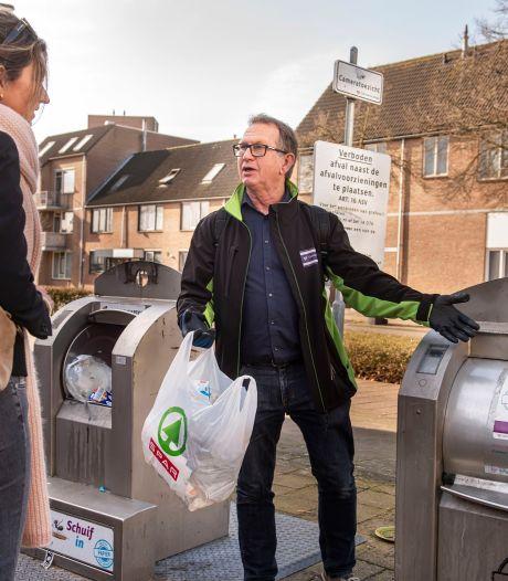 Koffiedrab bij het gft, schoenen bij het textiel: afvalcoach maakt Etten-Leurenaren 'afvalwijs'