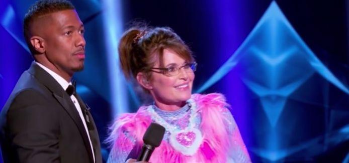 Sarah Palin als beer.