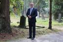 Henry van den Berg begon vier jaar geleden een uitvaartonderneming in Apeldoorn.