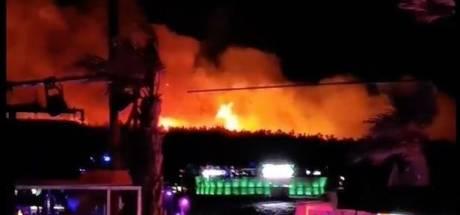 Duizenden festivalgangers in Kroatië geëvacueerd vanwege vuurzee, optredens geannuleerd