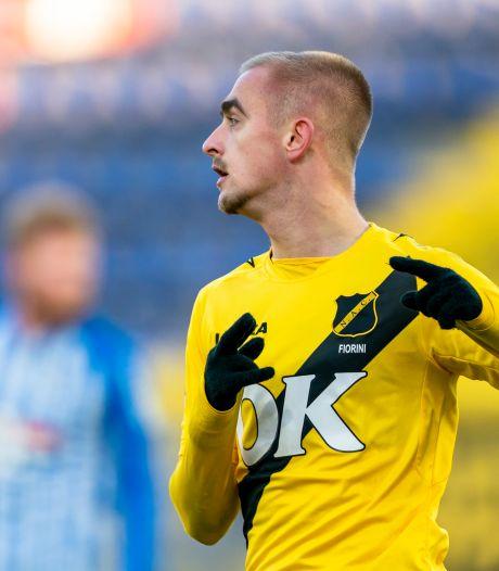 Fiorini en Immers bezorgen NAC drie punten in de vrieskou tegen FC Eindhoven