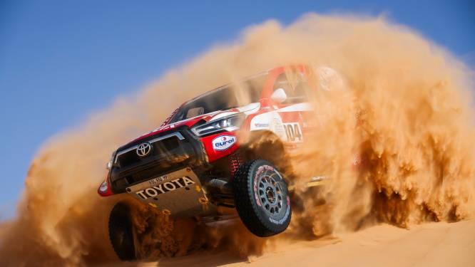De Villiers wint vijfde etappe in Dakar, Benavides beste bij de motoren