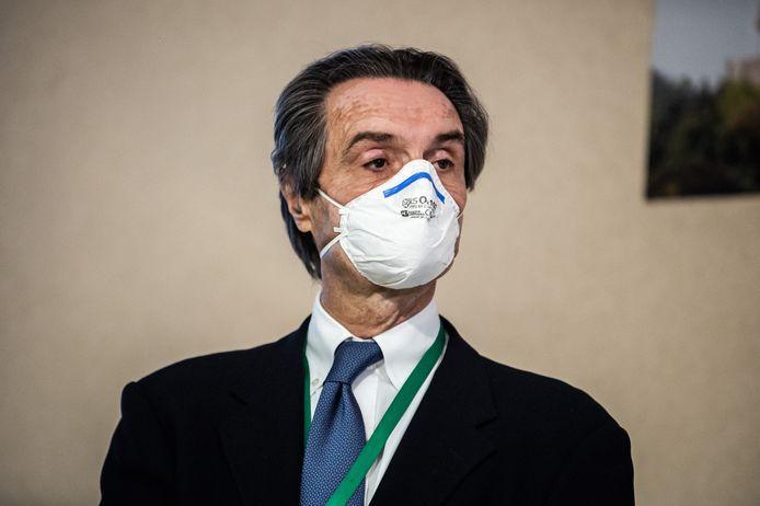 Attilio Fontana, président de la région Lombardie