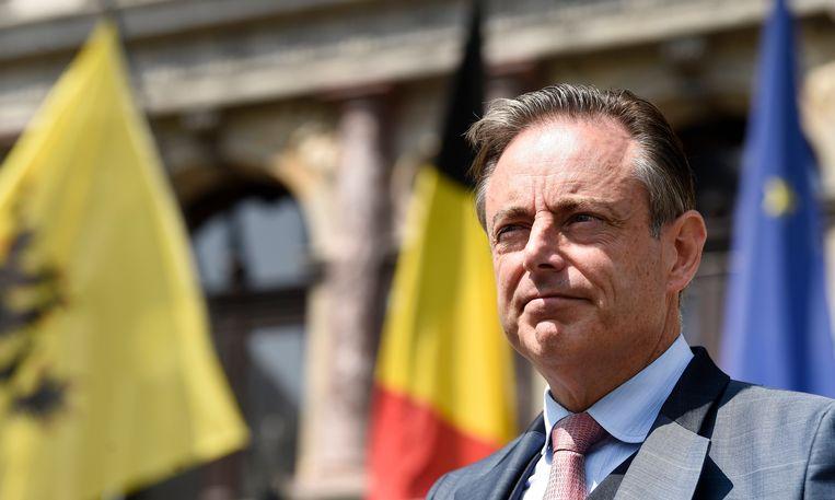 Bart De Wever ziet een samensmelting met Nederland wel zitten, verklaarde hij. Daar is niet iedereen blij mee. Beeld Photo News