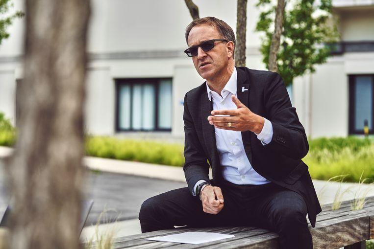 UGent-rector Rik Van de Walle. Beeld Thomas Nolf