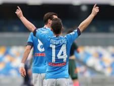 Un coup-franc direct pour Dries Mertens, une victoire étriquée pour le Napoli