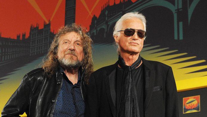 Robert Plant et Jimmy Page.