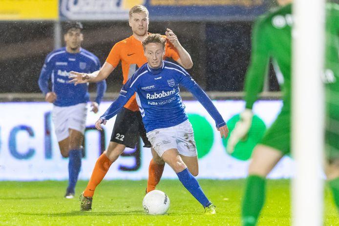 Lars ten Teije scoorde in de KNVB-bekerwedstrijd tegen HHC Hardenberg twee keer.