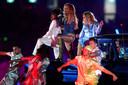 Rita Ora a fait le show lors de l'événement.
