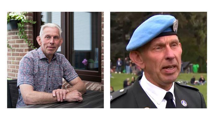 Ook Zonhovenaar Jean-Paul Briers (64) was gisteren aanwezig - in legeruniform - op La Boum 2 in het Ter Kamerenbos.