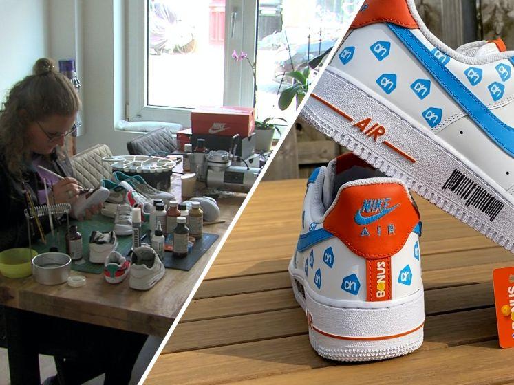 Marlies maakte Albert Heijn-schoenen en die gingen viral
