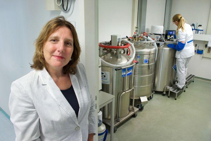 Medisch directeur Desiree Creemers.